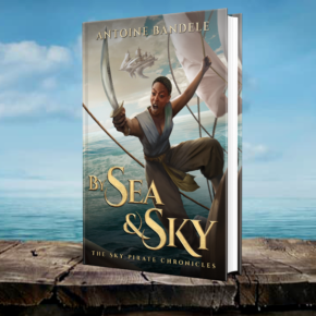Book Preview: Of Sea and Sky by Antoine Bandele